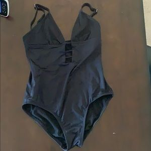 Laundry By Shelli Segal Swim - Laundry by Shelli Segal, black one piece!